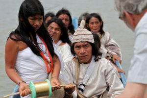 Aluna die Kogi-Indianer Botschaft